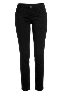 blue fire slim fit jeans »nancy« zwart