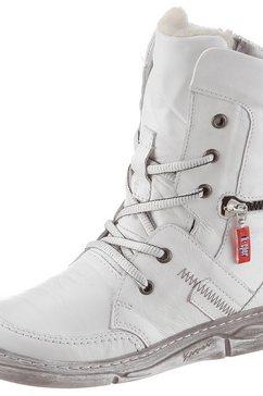 kacper hoge veterschoenen wit