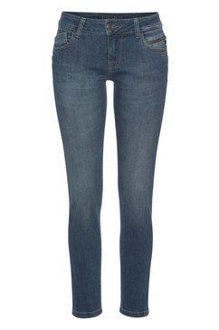 blue fire 5-pocket jeans »tyra« blauw