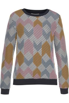 tom tailor denim sweatshirt multicolor