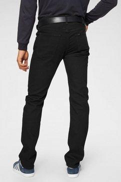 lee regular fit jeans »daren« zwart