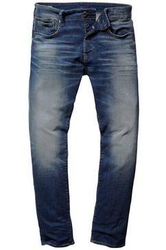 g-star straight-jeans »3301 straight« blauw