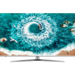 hisense h65u8b led-tv (163 cm - 65 inch), 4k ultra hd, smart-tv zilver