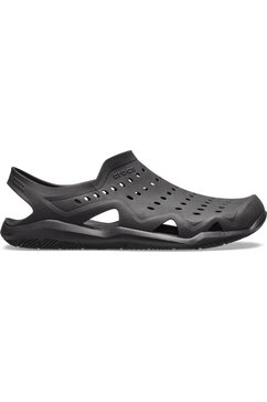 crocs sandalen »swiftwater wave m« schwarz