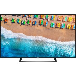 hisense h43be7200 led-tv (108 cm - 43 inch), 4k ultra hd, smart-tv zwart
