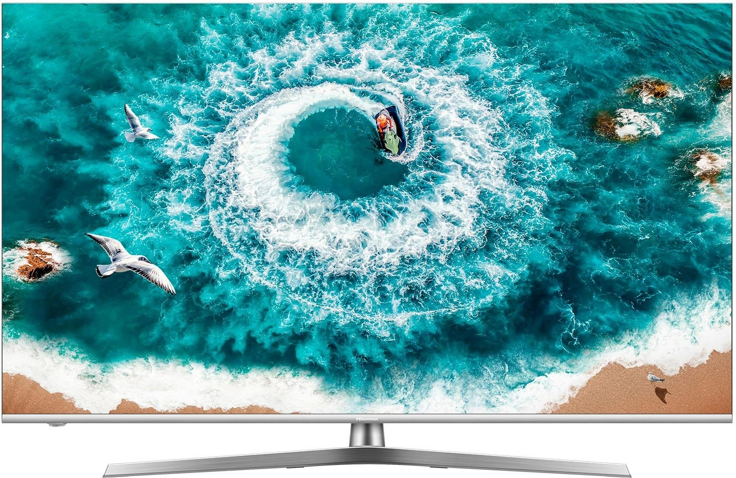 Hisense H55U8B led-tv (138 cm / 55 inch), 4K Ultra HD, smart-tv online kopen op otto.nl