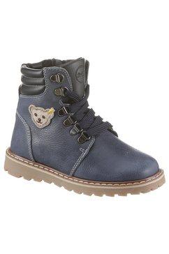 steiff hoge veterschoenen »robbin« blauw