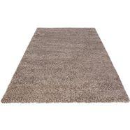 hoogpolig vloerkleed, »fabio«, wohnidee, rechthoekig, hoogte 30 mm, machinaal geweven bruin