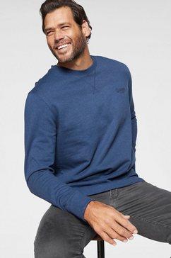 man's world sweatshirt blauw