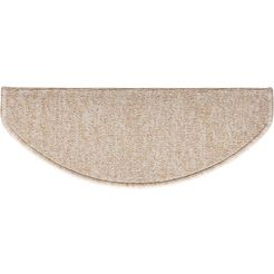 tredemat, »carlos«, andiamo, trapvormig, hoogte 8 mm, machinaal getuft natur