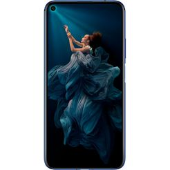 honor 20 smartphone (15,9 cm - 6,26 inch, 128 gb, 48mp-camera) blauw