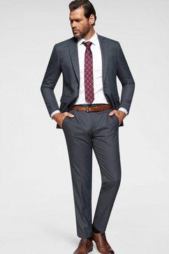 man's world kostuum grijs