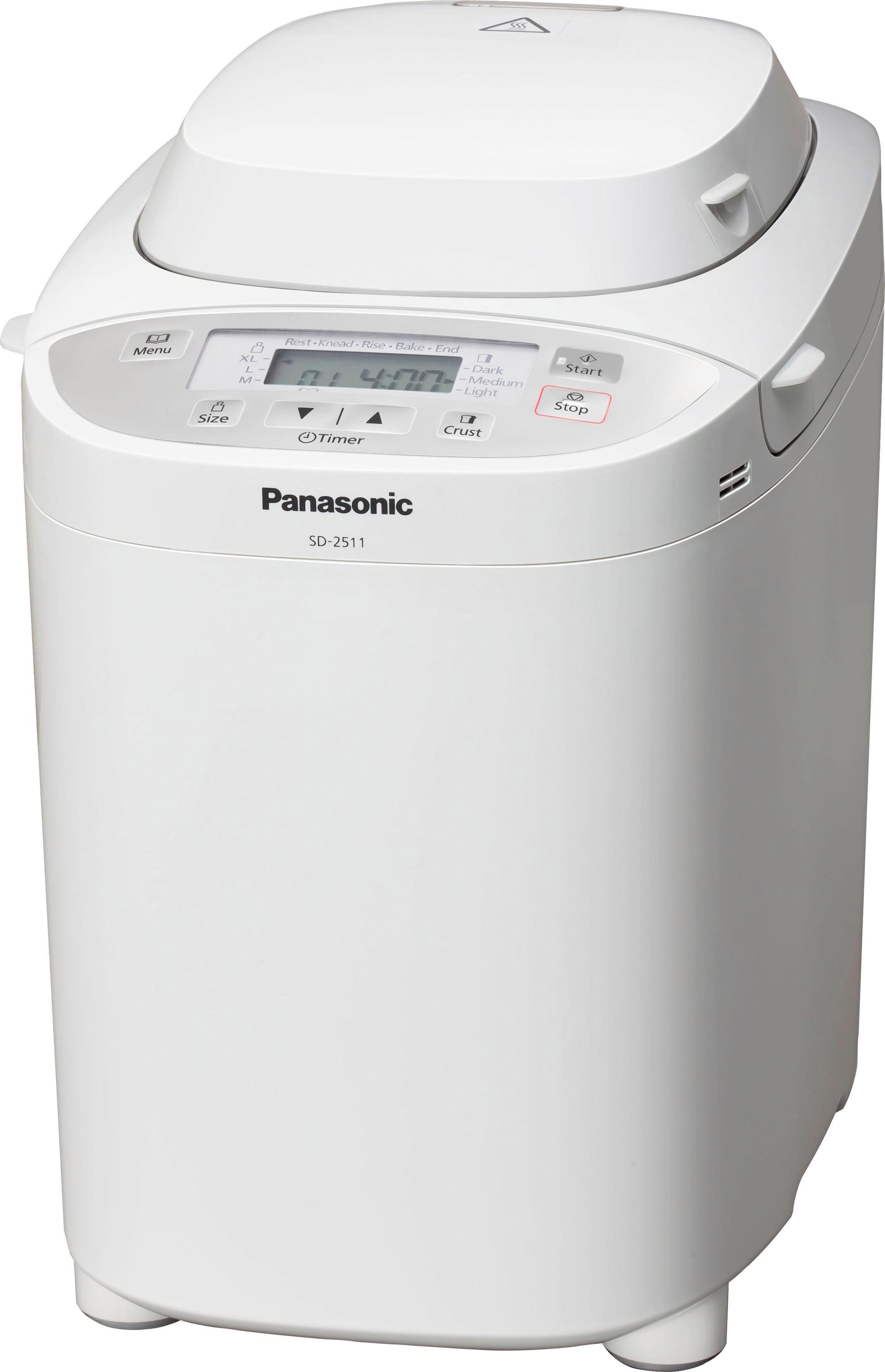 Panasonic »SD-2511WXE« broodbakmachine voordelig en veilig online kopen