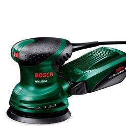 bosch excentrische schuurmachine »pex 220 a« groen