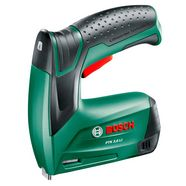 bosch accutacker »ptk 3,6 li«, inclusief 1000 klemmen (type 53, l: 8 mm) groen