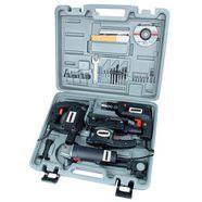 brueder mannesmann werkzeuge elektrische-apparaten-set »set elektro-gereedschap, 4-dlg.« zilver
