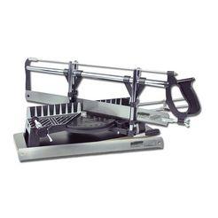 brueder mannesmann werkzeuge precisie-verstekzaag »550 mm« zilver