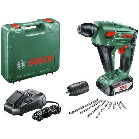 Bosch SDS-Quick-Accu-boorhamer 18 V 2.5 Ah Li-ion incl. accu, incl. accessoires, incl. koffer