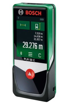 bosch afstandsmeter »plr 50 c« groen