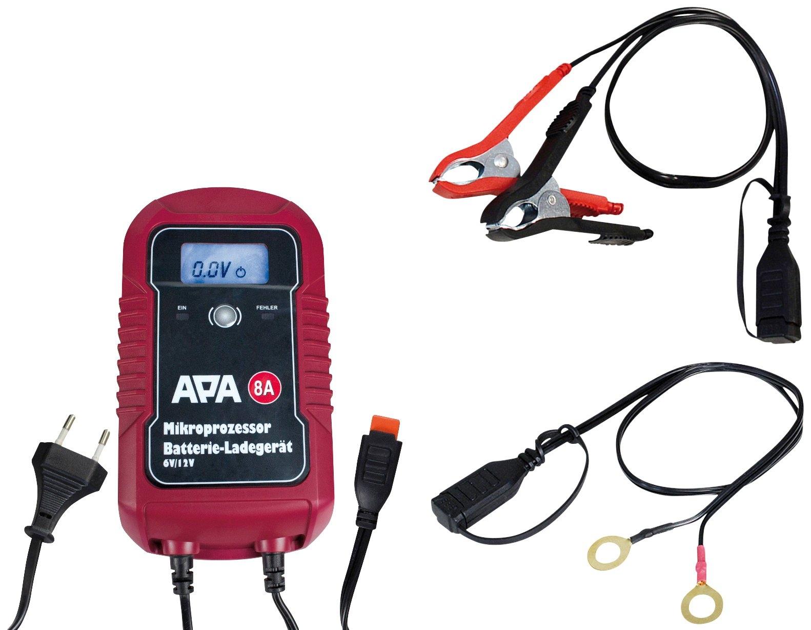 Apa Batterijoplader »6/12V 8A« nu online bestellen