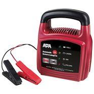 apa batterijoplader »12v, 4a« rood