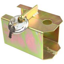 las aanhangerdiefstalbeveiliging »beveiliging tegen diefstal« zilver