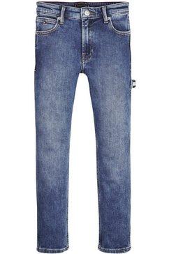 tommy hilfiger rechte jeans »carpenter straight« blauw
