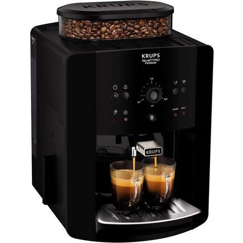 Krups volautomatisch koffiezetapparaat EA8110 Arabica Quattro Force, 1,8l