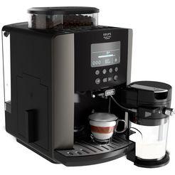 krups volautomatisch koffiezetapparaat ea819e arabica latte quattro force zwart