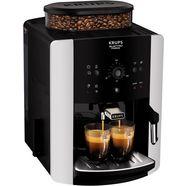 krups volautomatisch koffiezetapparaat ea8118 arabica quattro force, 1,8l tank, kegelmahlwerk zwart
