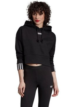 adidas originals hoodie »vocal crop hood« zwart