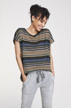 shirt met ronde hals multicolor