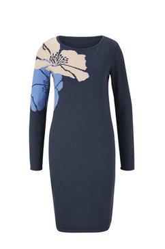 tricotjurk blauw
