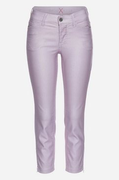 mac ankle jeans »dream chic glam pocket« paars