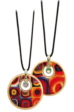 goebel ketting met hanger »farbstudie, artis orbis wassily kandinsky, 67100131« rood