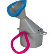 hydas inhalator premium met 2 soft-opzetstukken grijs