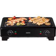 tefal »tg9008 smokeless grill« tafelgrill zwart