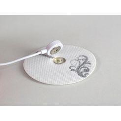 hydas ems-apparaat smart massager met 2 pads wit