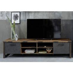 trendteam tv-meubel prime breedte 207 cm bruin