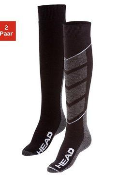 head skisokken (2 paar) zwart