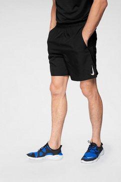 nike runningshort »m nk chllgr short 7in bf« zwart