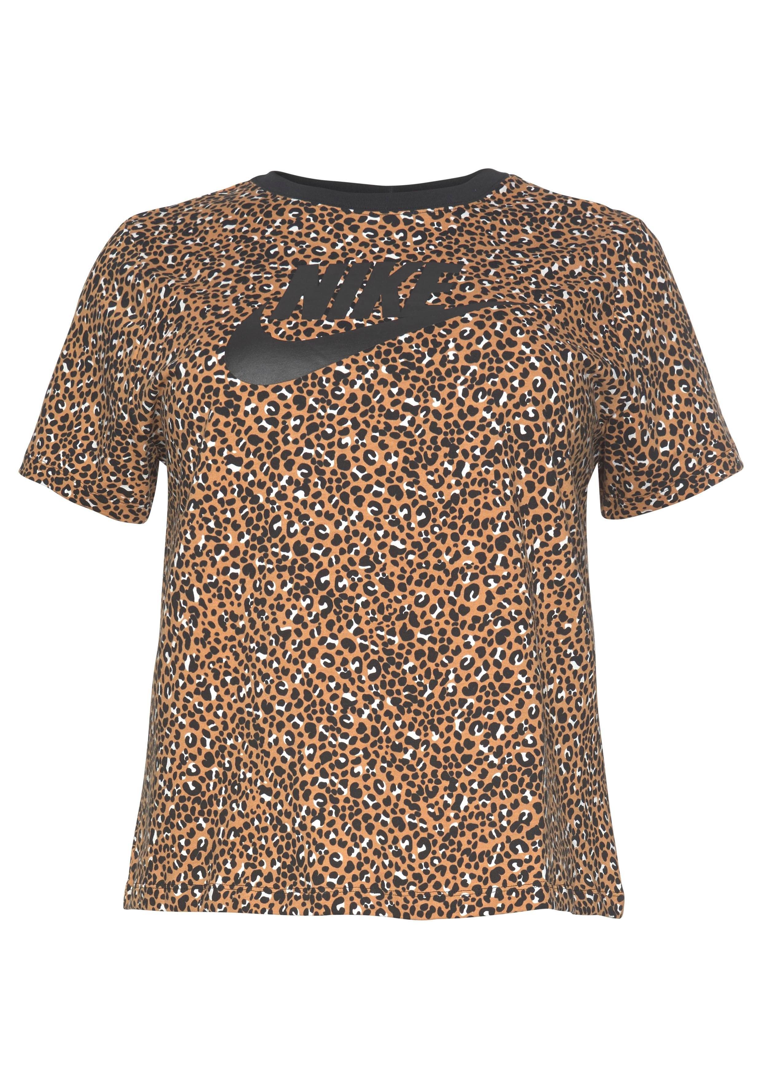Nike Sportswear T-shirt »WOMEN NIKE SPORTSWEAR TOP SHORTSLEEVE PLUS SIZE« nu online bestellen