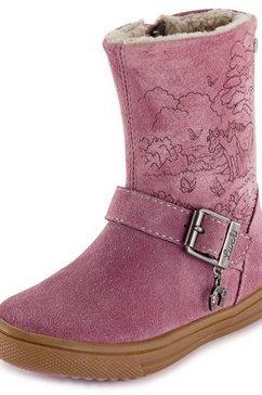 lurchi winterlaarzen »sandra-tex« roze