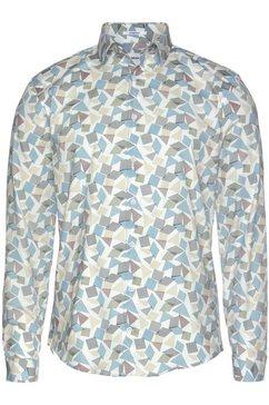 lindbergh overhemd met lange mouwen wit