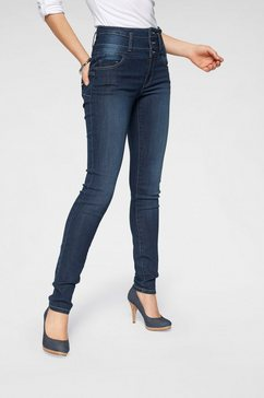 arizona slim fit jeans »met extra brede band« blauw