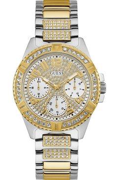 guess multifunctioneel horloge »lady frontier, w1156l5« zilver