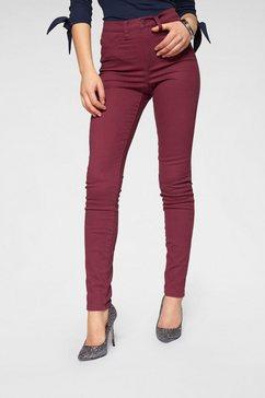 arizona jeggings »in coloured-denim« rood