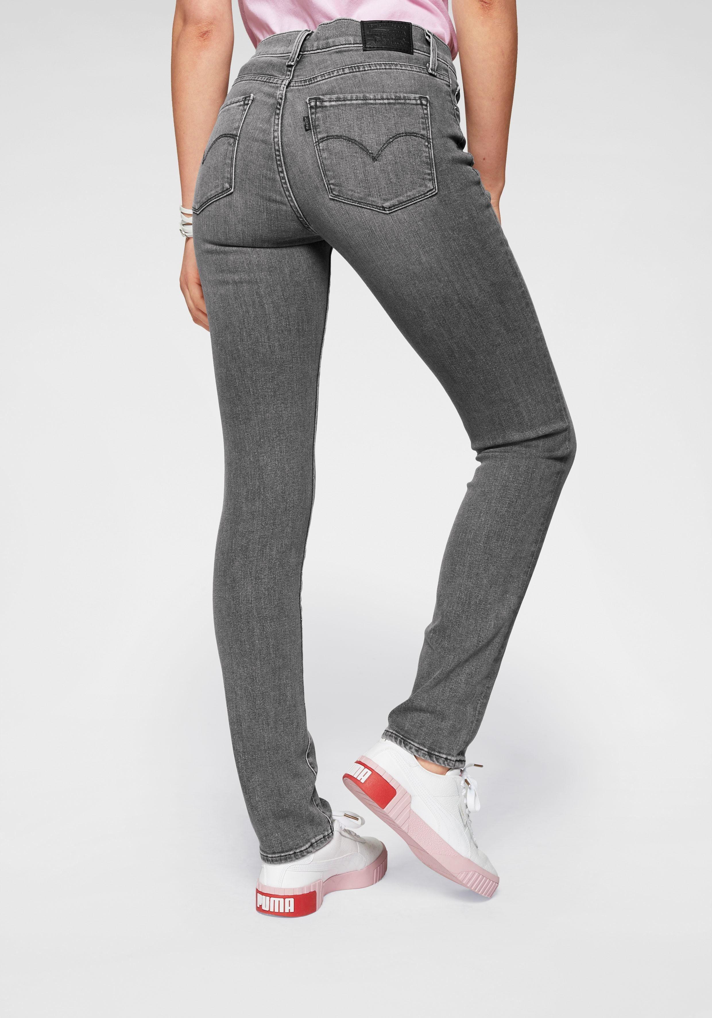 Grijze Dames Straight Fit Jeans van Cecil online kopen