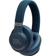 jbl »live 650 bt nc« over-ear-koptelefoon (siri, alexa, google assistant, bluetooth) blauw
