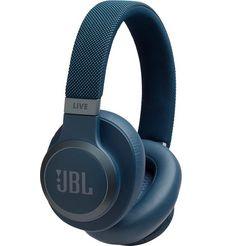 jbl over-ear-hoofdtelefoon live 650 btnc blauw